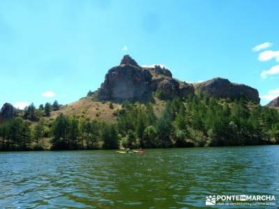 Piragüismo Hoces del Río Duratón;agencia viajes puente de la constitucion la pedriza madrid
